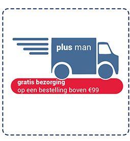 Gratis verzending bij bestellingen boven € 99