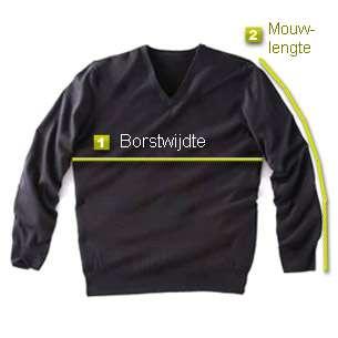 Bereken uw maat voor pullovers en truien